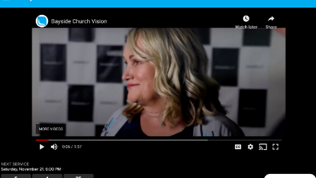 Bayside Church offers you the ultimate digital experience. With features such as live chat and prayer requests, it will help you to engage in worship online.