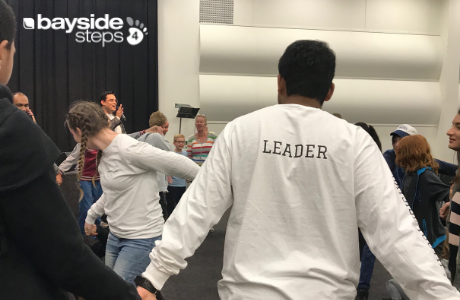 Step to Leadership is for anyone who is desiring to enter into a leadership position at Bayside Church. This course covers key foundational topics such as:  • The Call of a Leader • The Leader's Heart • A Leader's Spiritual Life • The Leader's People Skills • The Leader as a Team Builder • The Empowering Leader